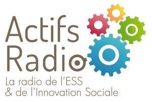 Nouveau logo Actifs Radio dossier