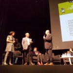 FRESS 2017 - Prix Citoyenneté et Territoires remis par M. Pignard au Bus Informatique Mobile